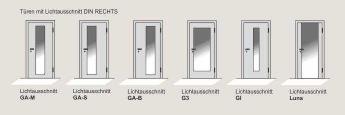 Innentüren mit lichtausschnitt  Lichtausschnitte - Haus der Türen